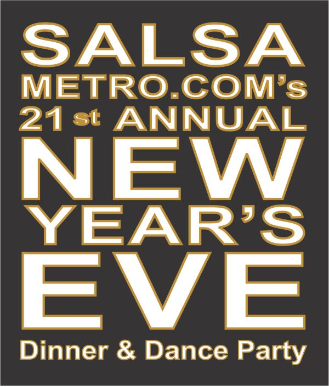 SALSAMETRO'S NYE SALSA PARTY (ONE TICKET)